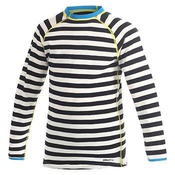 Trička Craft Triko Warm Wool Junior černá