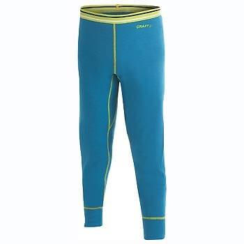 Spodní prádlo Craft Spodky Warm Wool Junior modrá