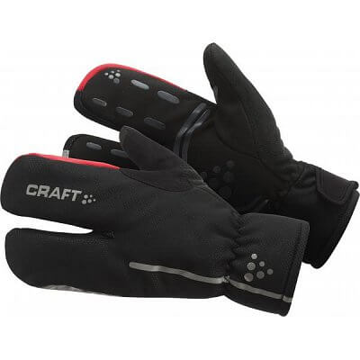 Rukavice Craft Rukavice Bike Thermal Split Finger černá