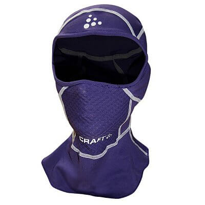Čepice Craft Kukla Stretch Face Protector Junior fialová