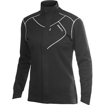 Mikiny Craft W Mikina Performance Warm Jacket černá