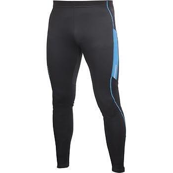Kalhoty Craft Kalhoty PR Thermal Tights černá s modrou