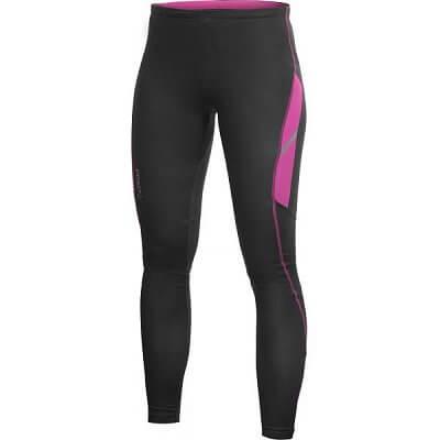 Kalhoty Craft W Kalhoty PR Thermal Tights černá s růžovou
