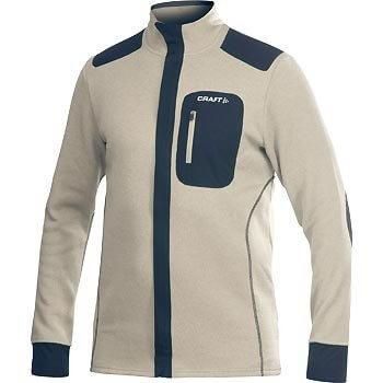 Craft Mikina Performance Warm Jacket béžová