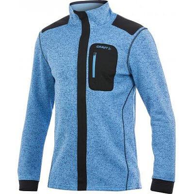 Mikiny Craft Mikina Performance Warm Jacket modrá