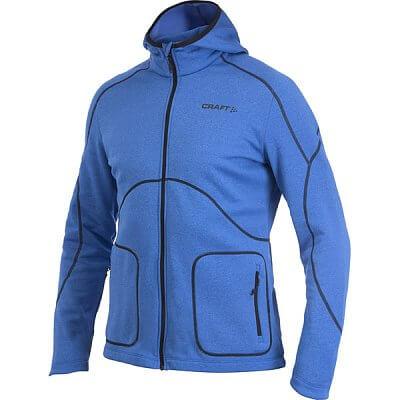 Craft Mikina Active Full Zip Hood modrá