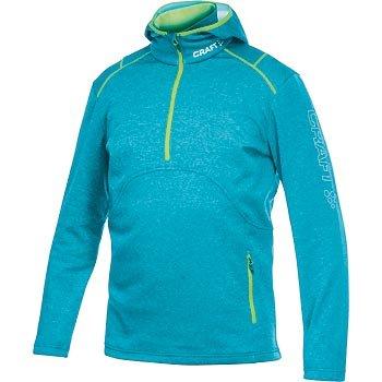 Mikiny Craft Mikina Active Logo Hood modrá