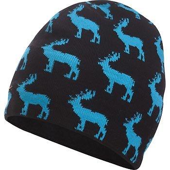 Craft Čepice Alpine Dear černá s modrou