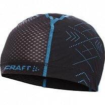 Craft Čepice XC Mesh černá s modrou