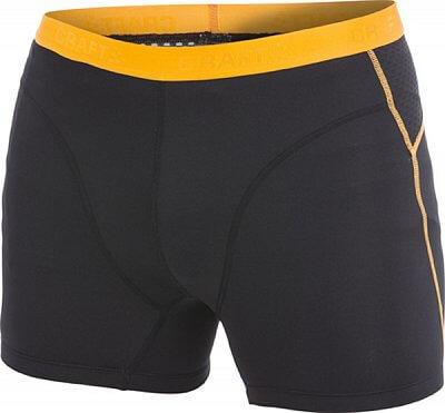 Spodní prádlo Craft Boxerky Cool Boxer černá s oranžovou