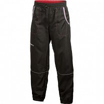 Craft Kalhoty Run Junior černá s růžovou