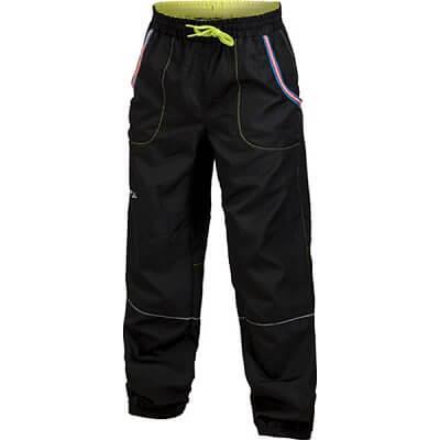 Kalhoty Craft Kalhoty Run Junior černá se žlutou