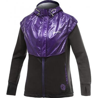 Bundy Craft W Bunda PR Femme černá s fialovou