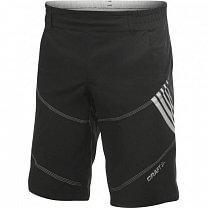 Craft Cyklokalhoty AB Hybrid Shorts černá