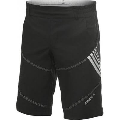 Kraťasy Craft Cyklokalhoty AB Hybrid Shorts černá