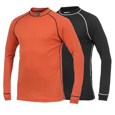Trička Craft Sada trik Active Multi 2-pack oranžová a černá