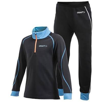 Mikiny Craft Set Stretch 2-pack Junior černá s modrou