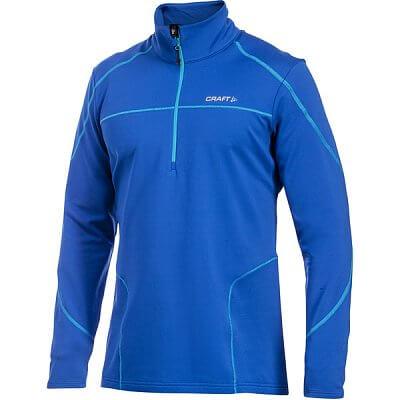 Craft Mikina Performance Thermal Stretch Pullover modrá