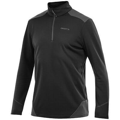 Mikiny Craft Rolák Active Shift Free Pullover černá