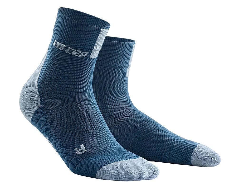Ponožky CEP Krátké ponožky 3.0 pánské modrá / šedá