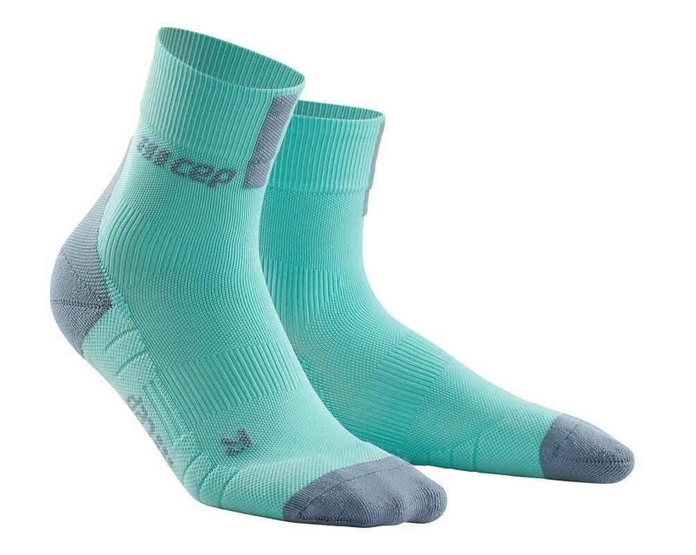 Ponožky CEP Krátké ponožky 3.0 dámské ledově modrá / šedá
