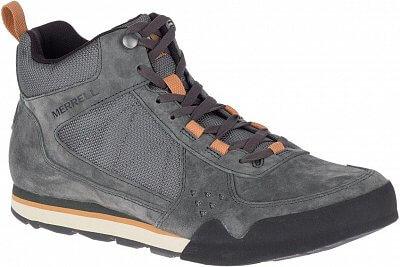 Pánská outdoorová obuv Merrell Burnt Rock Tura Mid Suede
