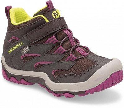 Detská outdoorová obuv Merrell Chameleon 7 Mid A/C WTPF