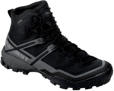 Outdoor topánky Mammut Ducan High GTX® Men black-black 0052