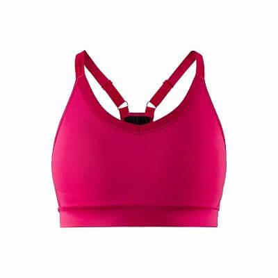Spodní prádlo Craft W Podprsenka Motion růžová