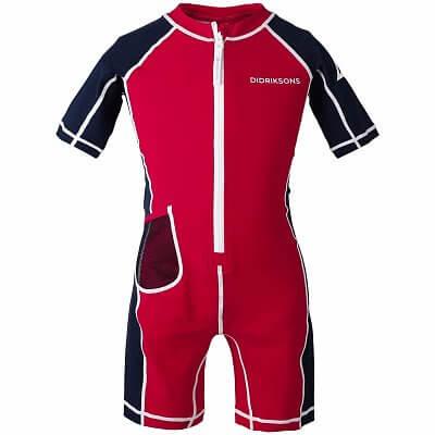 Plavky Didriksons Overal REEF plavecký dětský červená