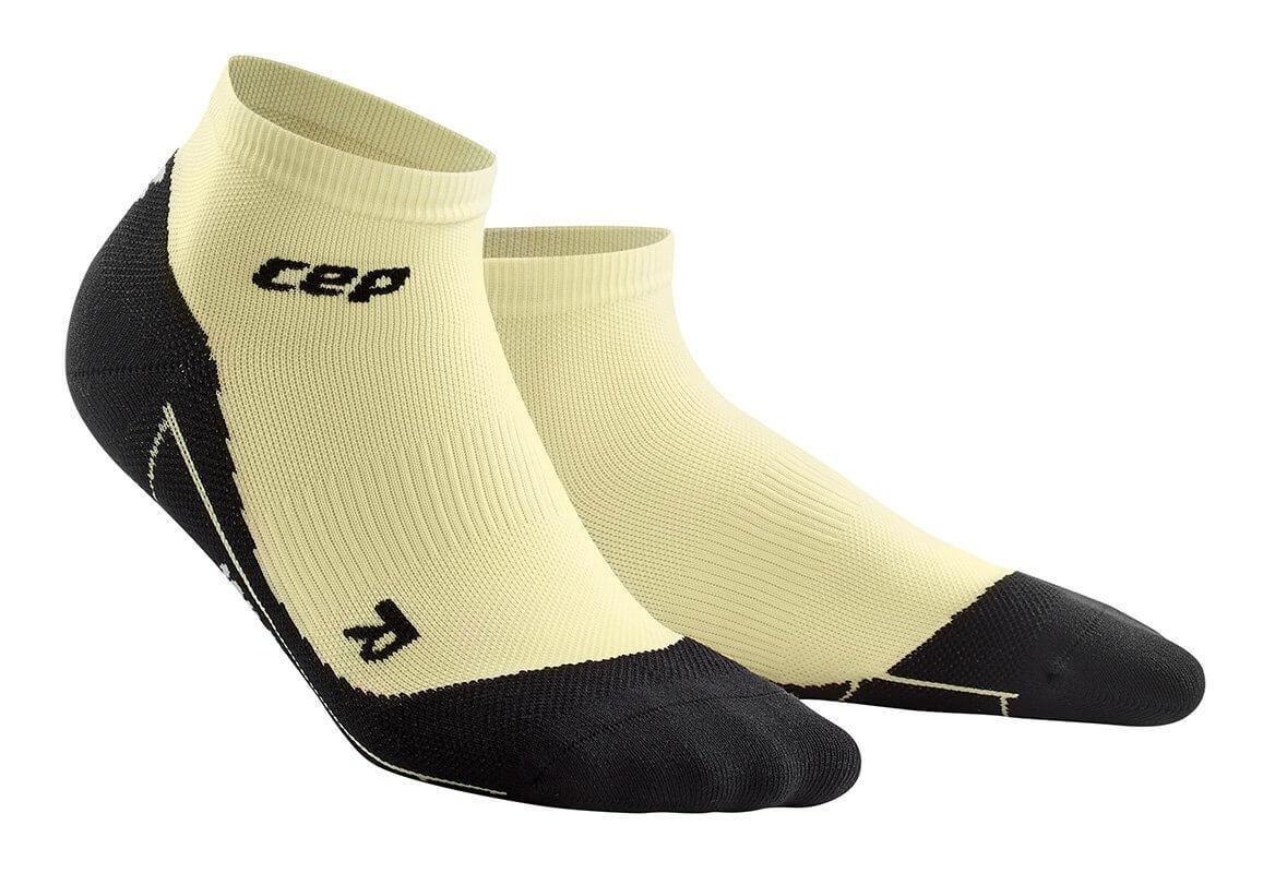 Ponožky CEP Kotníkové ponožky FITNESS dámské pastelově žlutá