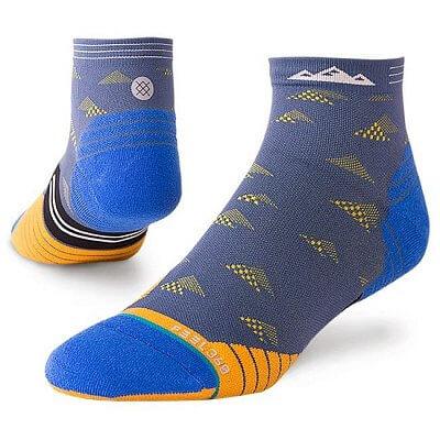 Pánské ponožky Stance Early Riser Qtr Blue