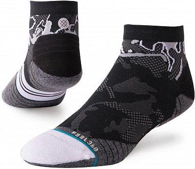 Pánské ponožky Stance Prism Qtr Black