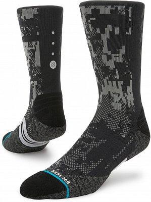 Pánské ponožky Stance Prism Crew Black
