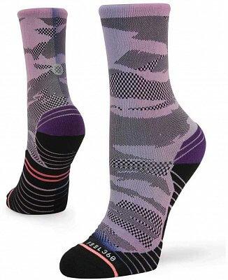 Dámské ponožky Stance Compass Crew Purple
