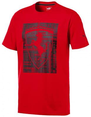 cdb3f9fd0a712 Puma Ferrari Big Shield Tee - pánske tričko | Sanasport.sk