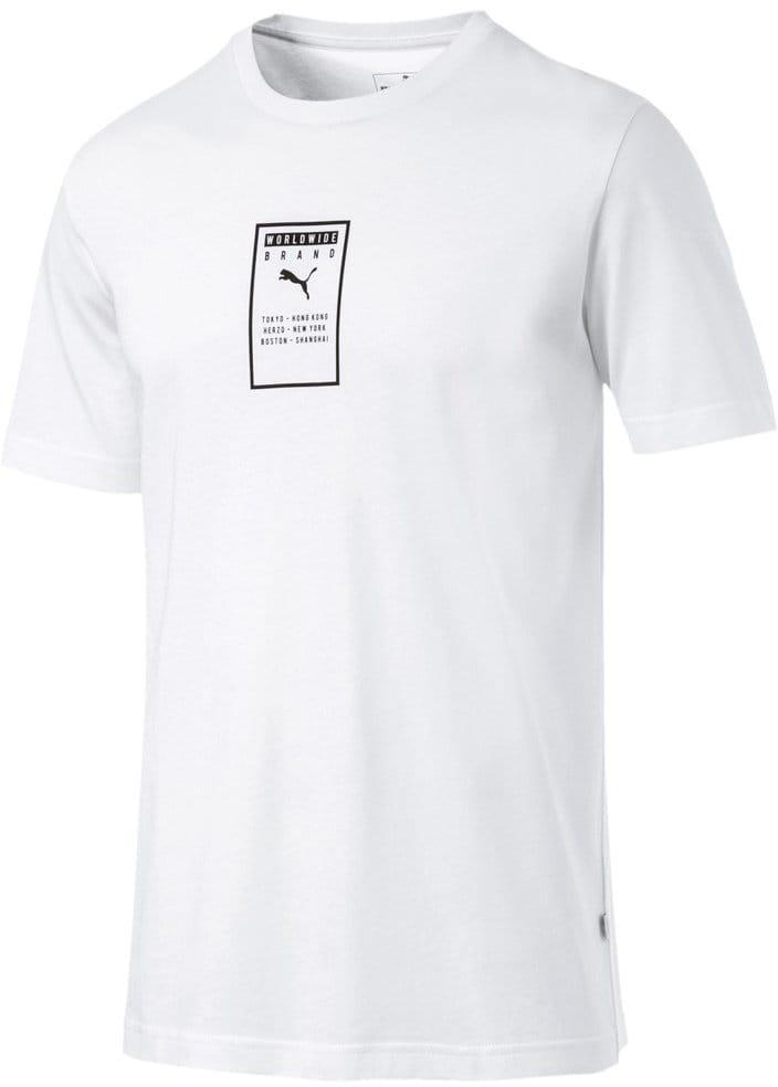 252c188eb12c Puma Brand Placed Tee. Pánské sportovní tričko
