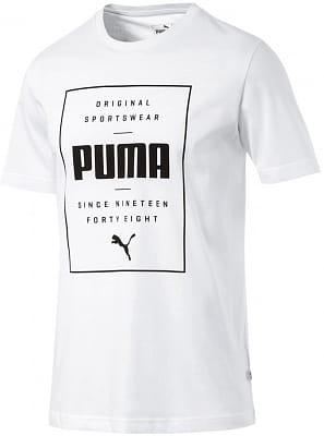 f1efb6fcad4a0 Puma Box PUMA Tee - pánske tričko | Sanasport.sk