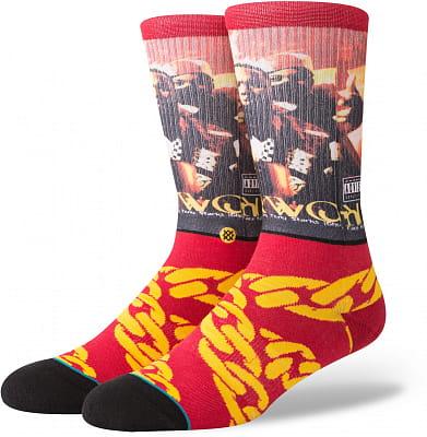 Pánské ponožky Stance Cuban Linx Burgundy