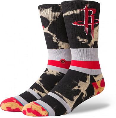 Pánské ponožky Stance Rockets Acid Wash Red