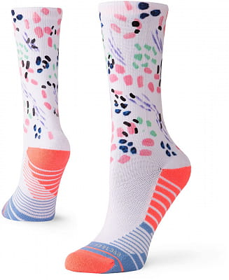 Dámské ponožky Stance Chipper Crew Pink