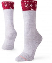Stance Carbondale Hike Grey Heather