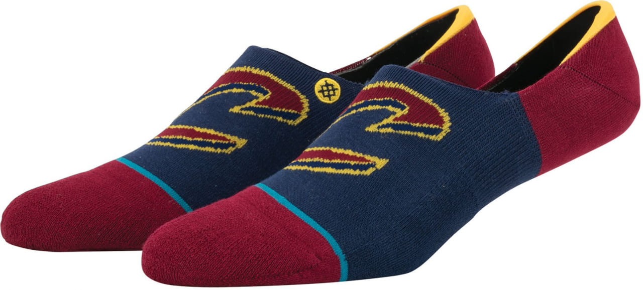 Pánske ponožky Stance Cavs Invisible Burgundy