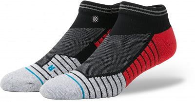Pánské ponožky Stance Pressure Low Black/Red