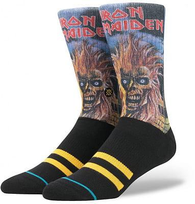 Pánské ponožky Stance Iron Maiden Black