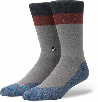 Pánské ponožky Stance Atacama Crew Grey