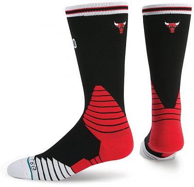 Pánské ponožky Stance Logo Crew Bulls Black