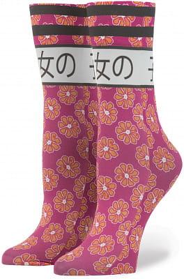 Dámské ponožky Stance Rihanna Bad Girl Pink