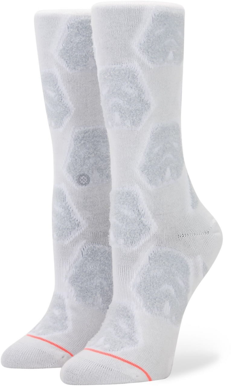 Dámske ponožky Stance Cozy Trooper White