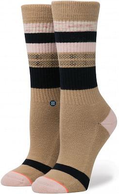 Dámské ponožky Stance Pintuck Khakiki